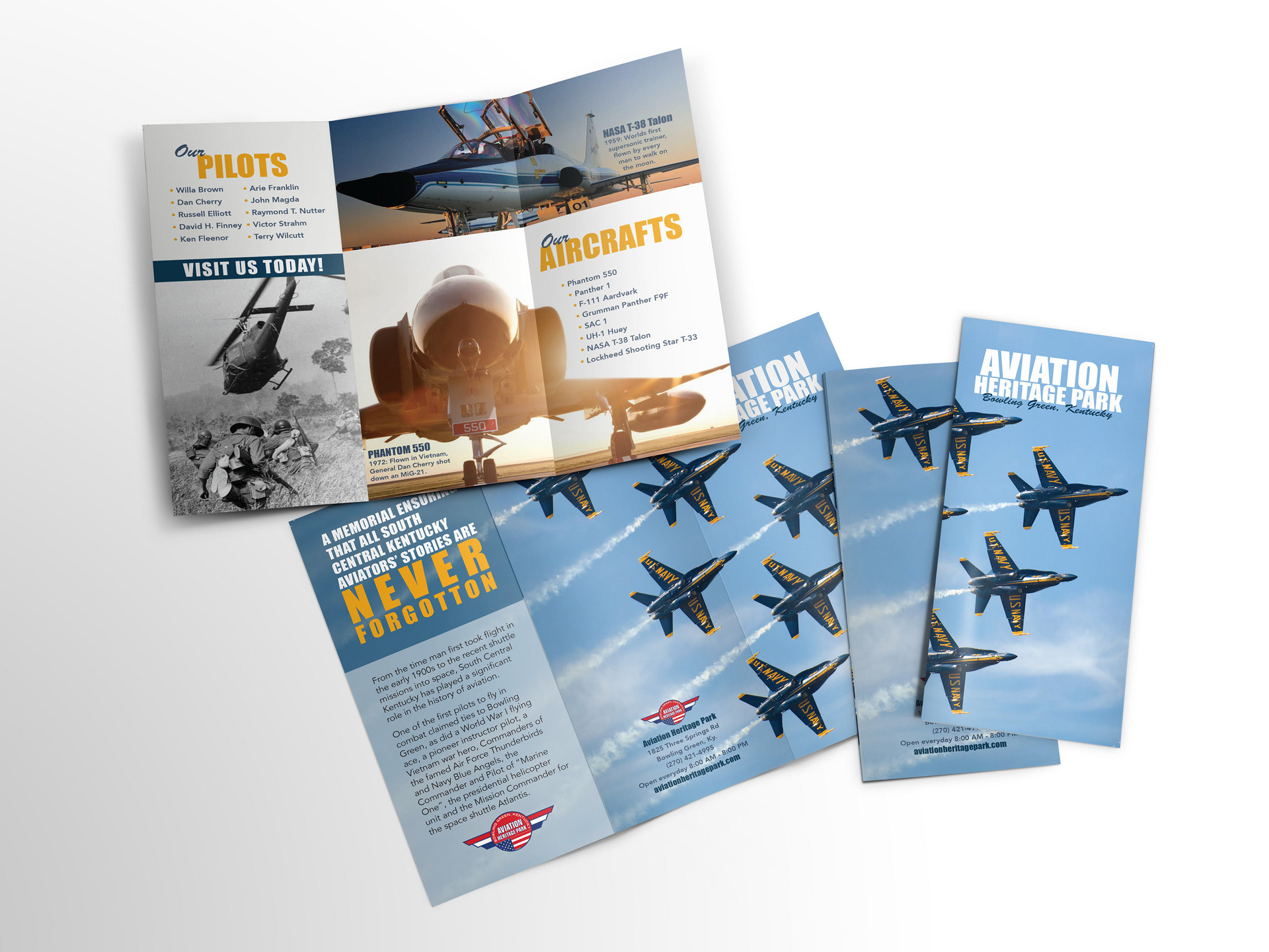 Aviation Heritage Park Brochure