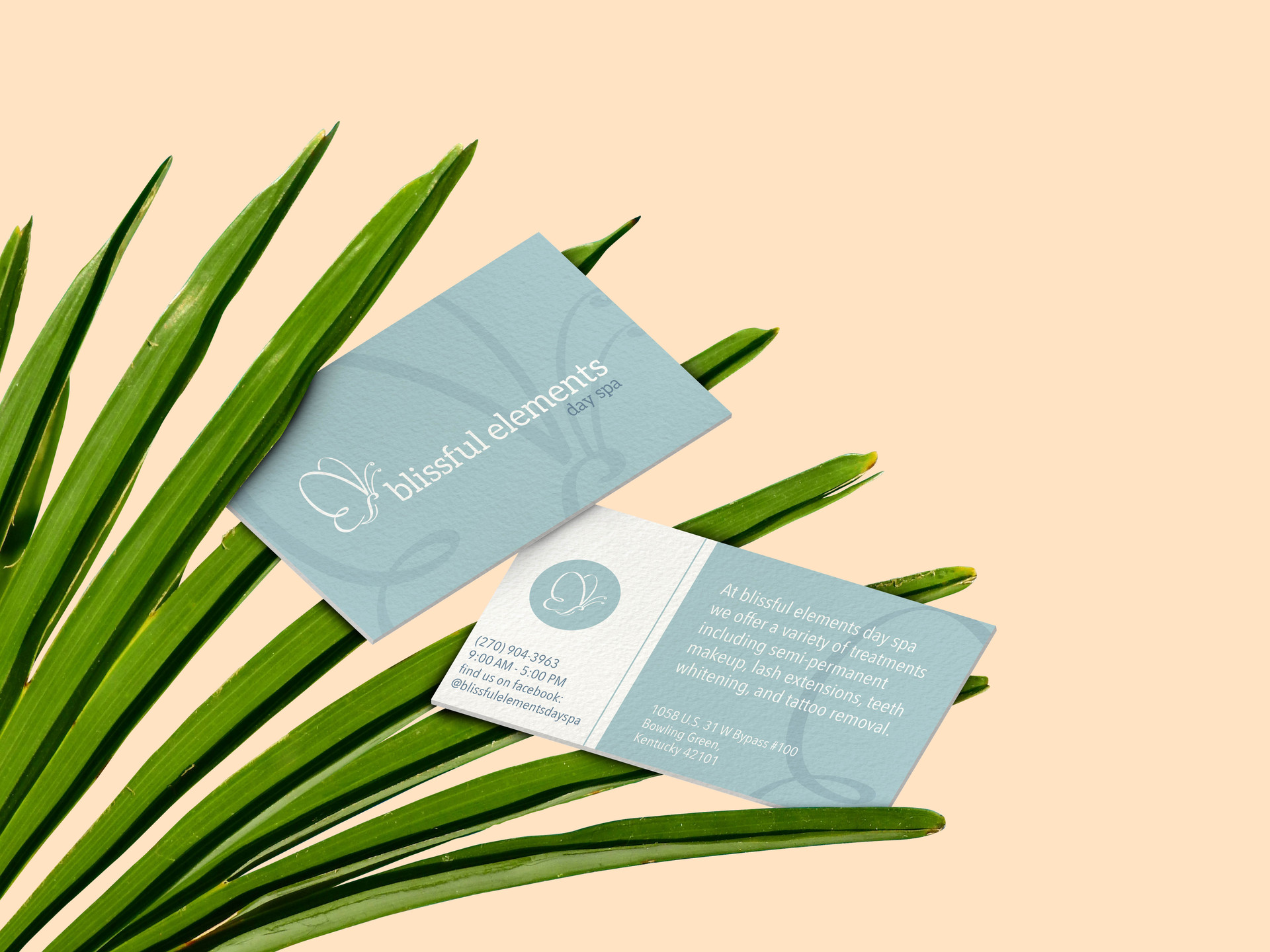 Blissful Elements Business Card