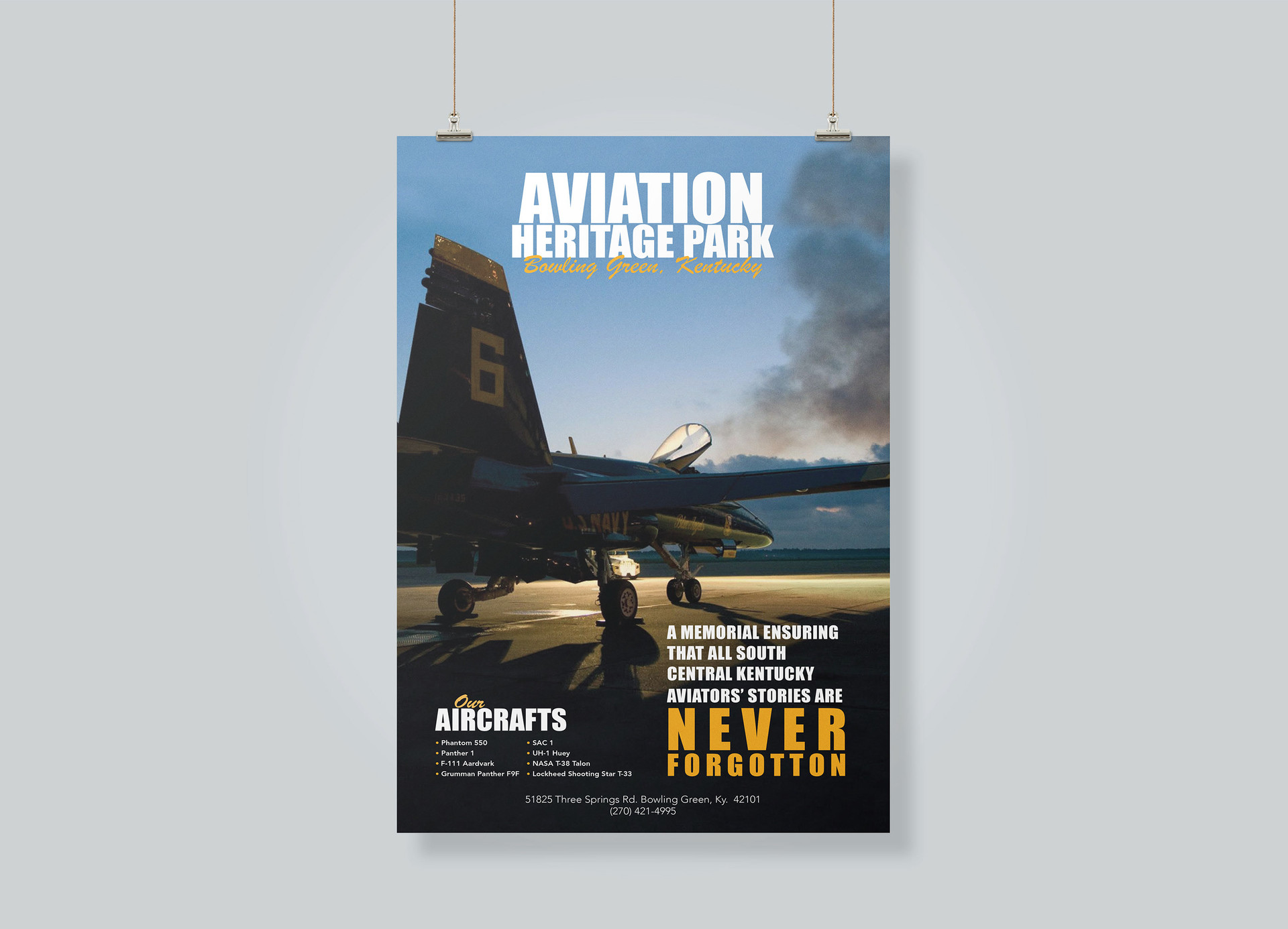 Aviation  HeritagePark Poster