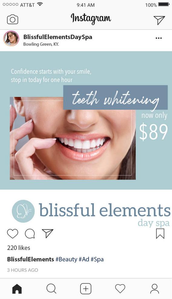 Blissful Elements Ad