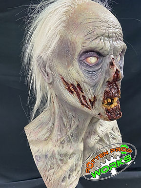 Zombie Bust 1.0 with Hair