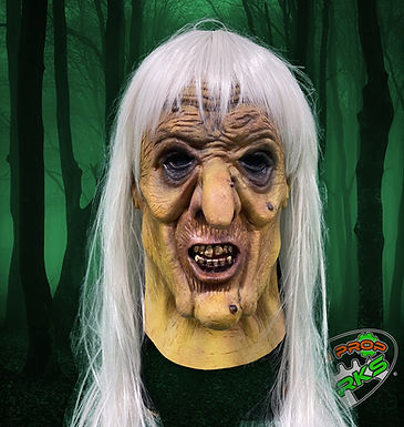 Green Witch Half Mask