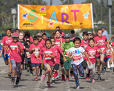 5K children running