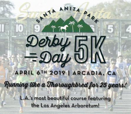 Derby Day 5K flyer