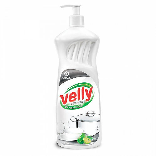 Gel pentru vase «Velly Premium» Lime & mentă (1 L)