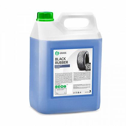 """Полироль чернитель шин """"Black rubber"""" (канистра 5,7 кг)"""