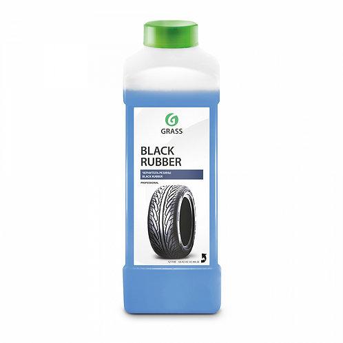 """Полироль чернитель шин """"Black rubber"""" (канистра 1 л)"""