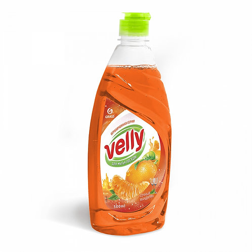 """Гель для мытья посуды """"VELLY"""" Сочный Мандарин (500 мл)"""