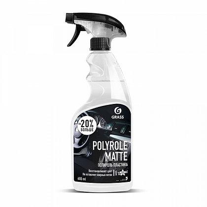 """Полироль-очиститель пластика матовый """"Polyrole Matte"""" ваниль (флакон 600мл)"""