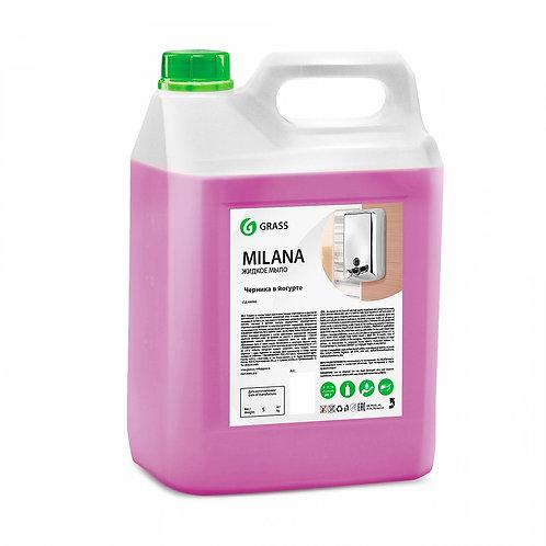 """Жидкое крем-мыло """"MILANA"""" Черника в йогурте (5 кг)"""