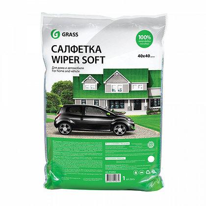 Салфетка WIPER SOFT (100% микрофибра) упакованная