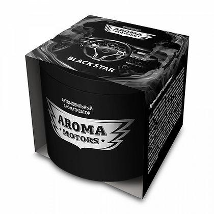 Ароматизатор гелевый «Aroma Motors» BLACK STAR (100мл)