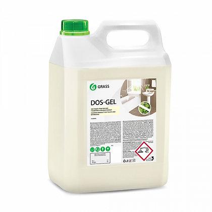 """Чистящий гель с хлором """"DOS GEL"""" (5,3 кг)"""