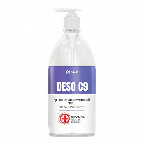 """Дезинфицирующий гель для рук и поверхностей """"DESO C9"""" (1000 мл)"""