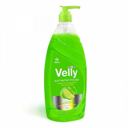 """Средство для мытья посуды """"Velly"""" Premium лайм и мята (флакон 1000 мл)"""