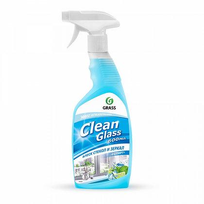 "Чистящее средство для стекол ""Clean Glass"" голубая лагуна (флакон 600мл)"