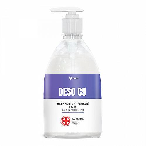 """Дезинфицирующий гель для рук и поверхностей """"DESO C9"""" (500 мл)"""