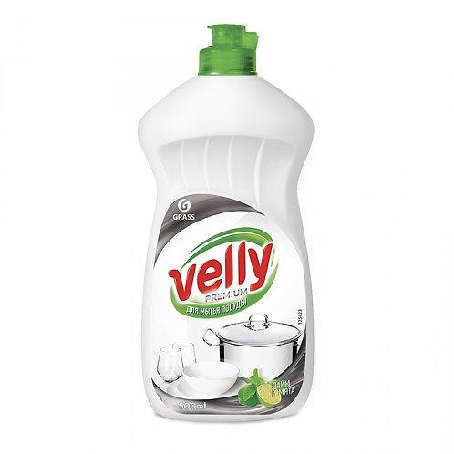 Gel pentru vase «Velly Premium» Lime & mentă (500 ml)