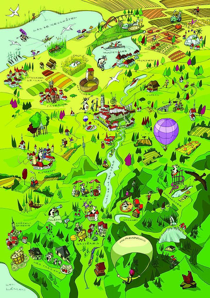 Картинки по запросу fribourg region