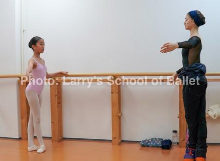 神戸でキッズクラス募集スタート ラリーズスクールオブバレエ