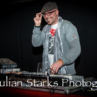 DJ Andrea Thor Schianni at Music show Pa