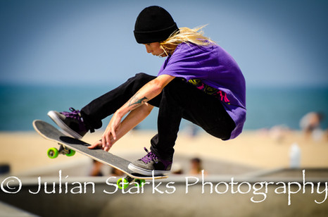 Venice Beach Skateboaders_Julian Starks