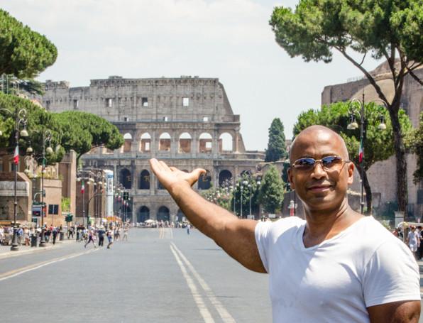 The Collosseum_Rome, Italy_Julian Starks