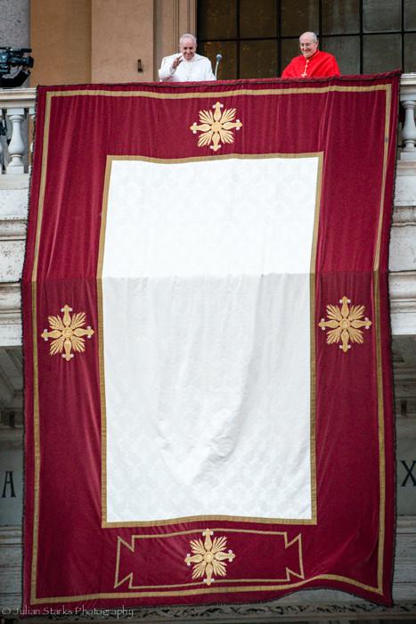 Pope Francis at Basilica di San Giovanni