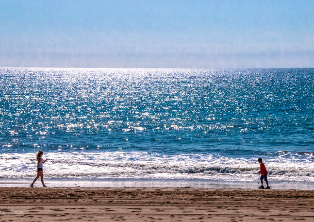 DSC_2753_Santa Monica Pacific Ocean_Juli
