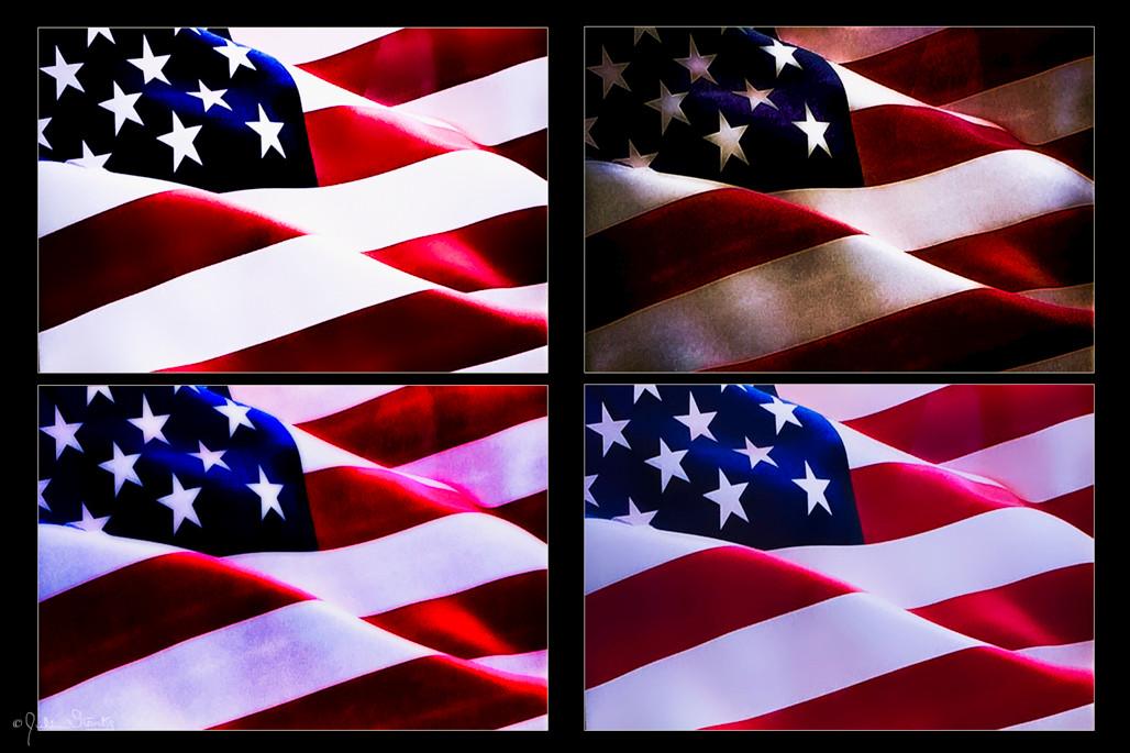 Flags Collage #1_Julian Starks Photograp
