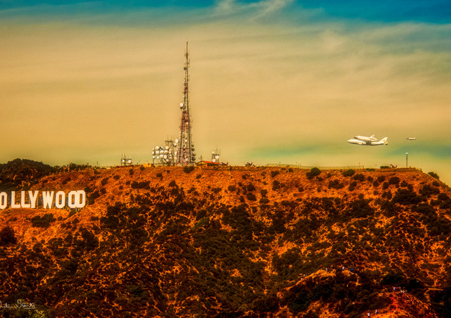 Space Shuttle_Griffith Observatory_Julia