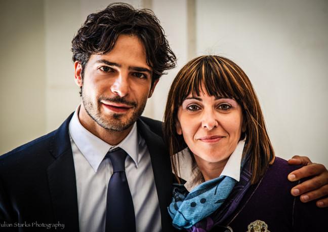 Italian Actor Marco Bocci & Italian Pian