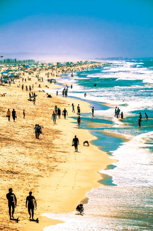 DSC_4529_Santa Monica Pacific Ocean_Juli