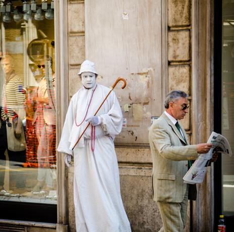 Rome, Italy_Street People_Julian Starks
