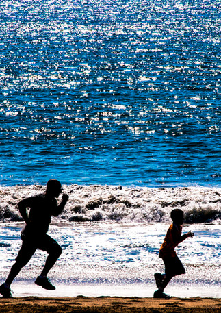 DSC_2742_Santa Monica Pacific Ocean_Juli