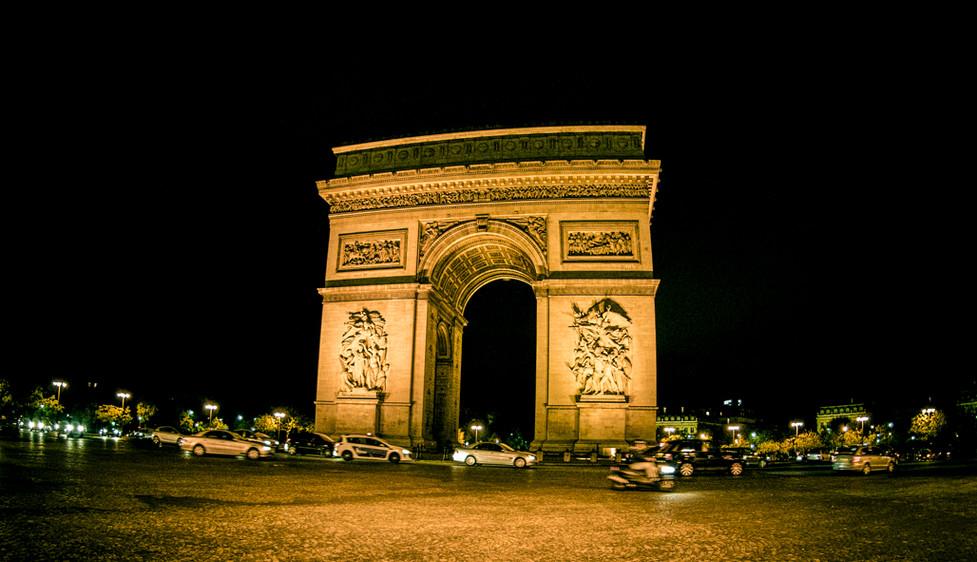 The Arc de Triomphe_Paris, France_Julian