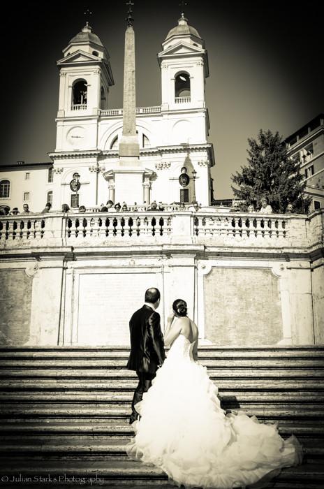 Rome Wedding Couple_Julian Starks Photog