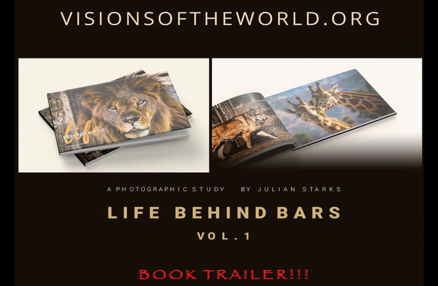 A Book Trailer of Life Behind Bars, my first Fine Art Photography Book.