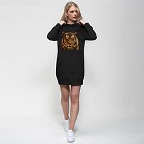 Massive Tiger Premium Adult Hoodie Dress
