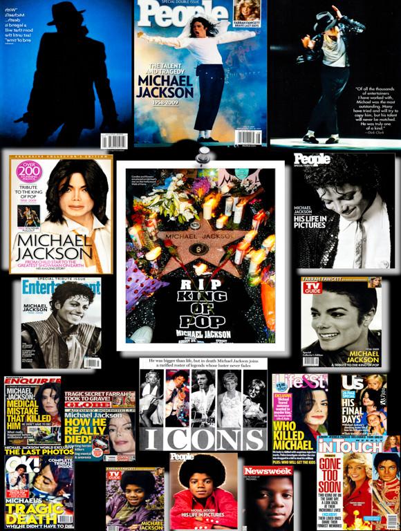 Michael Jackson Collage_Christmas Decora