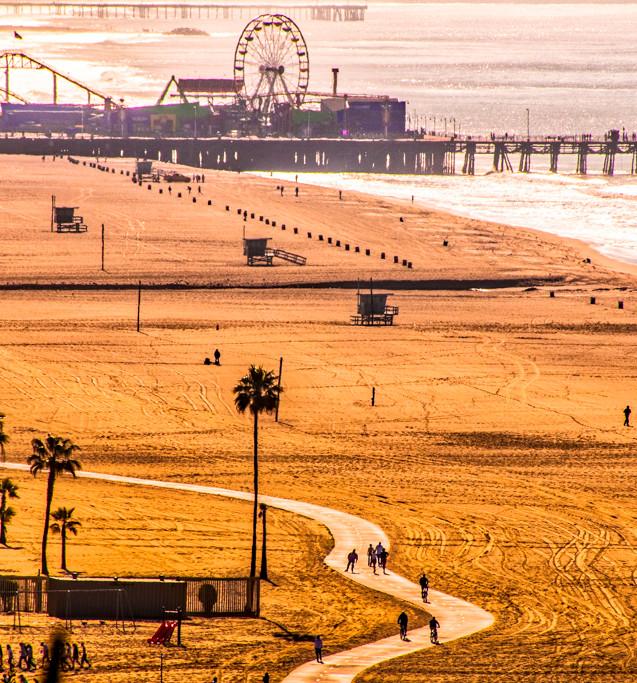 DSC_2630_Santa Monica Pacific Ocean_Juli