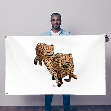 The Cheetah Brothers Sublimation Flag.pn