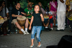 7090_Beautiful Girl dancing in NYC's Cen