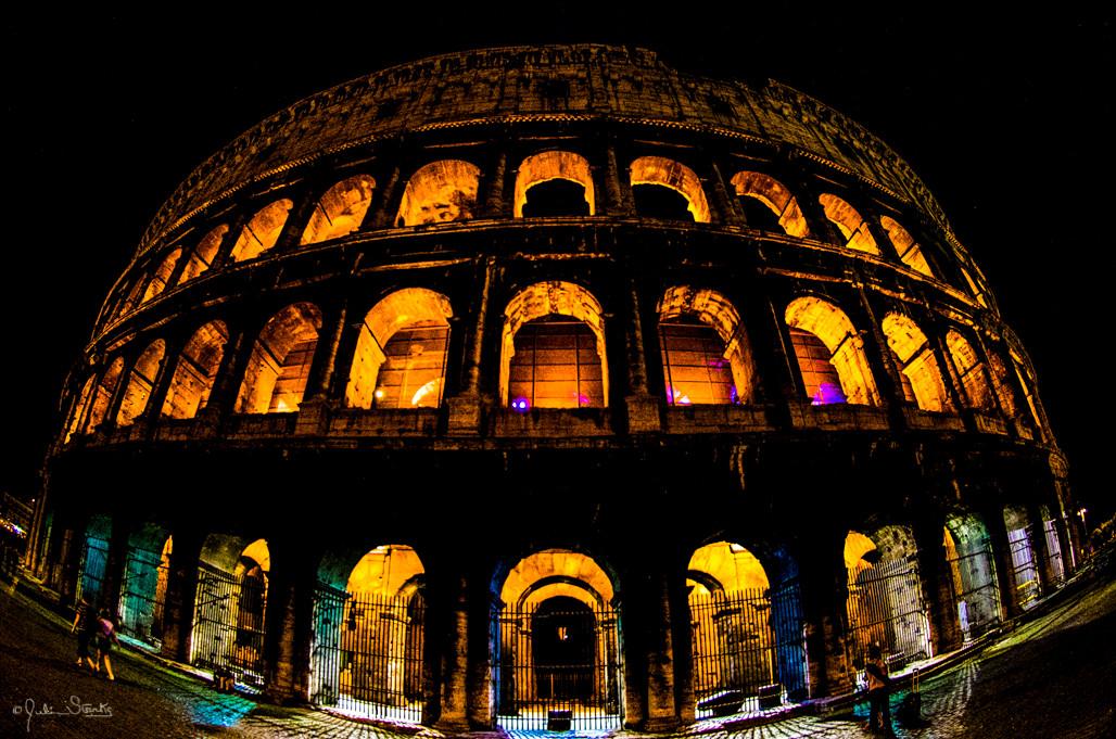 The Colloseum_Rome, Italy_Julian Starks
