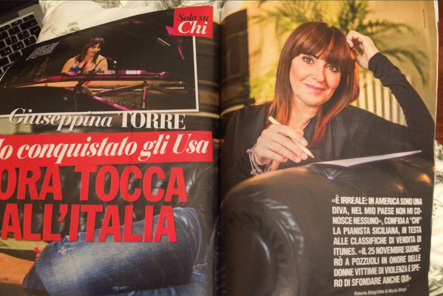 Giuseppina Tear Sheet