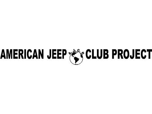 A.J.C.P. Hood Banner