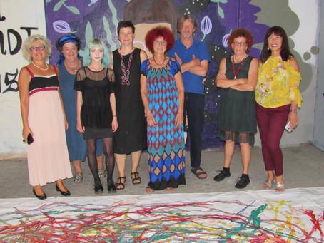 letztes Künstlersymposium in der Schäffnerstrasse, KunstvereinGraz, Regensburg, August 2018