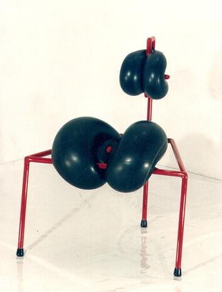 PLUH, ein Unan-Stuhl von Tone Schmid, 1998