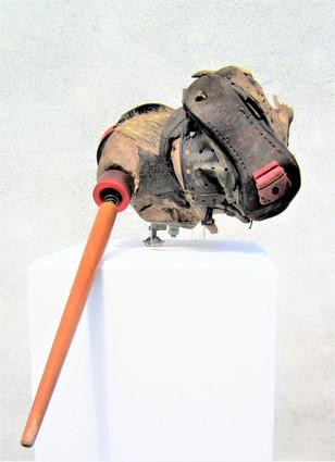 Der innere Schweinehund, magnetisch kinetisch, 2018