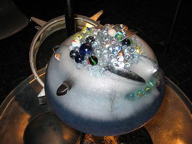 detail aus Tone Schmid, Eistrommelfeuer